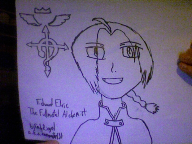 First Attempt at Edward Elric ever