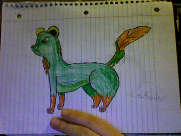 Leafhowler (Fan Pokemon)