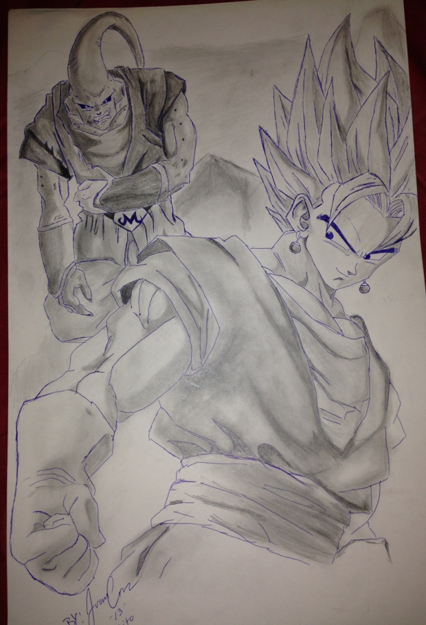 Vegito vs Super Buu