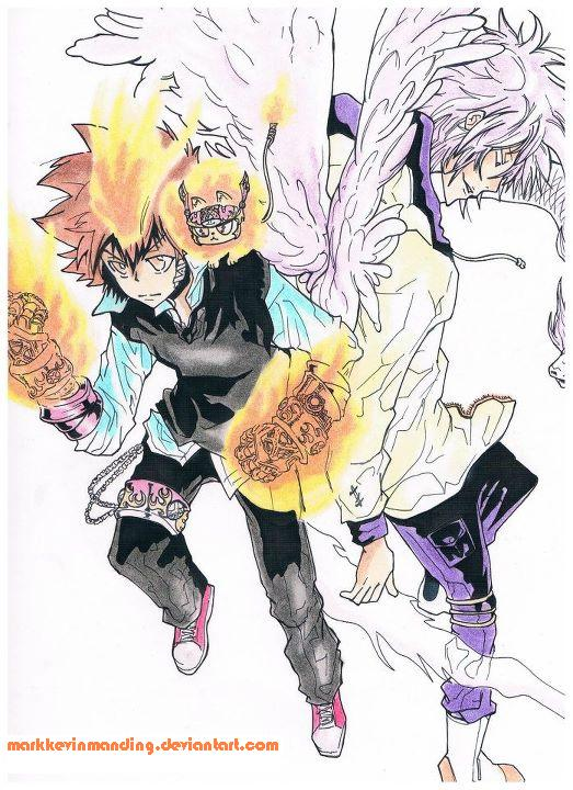 Tsuna and Byakuran