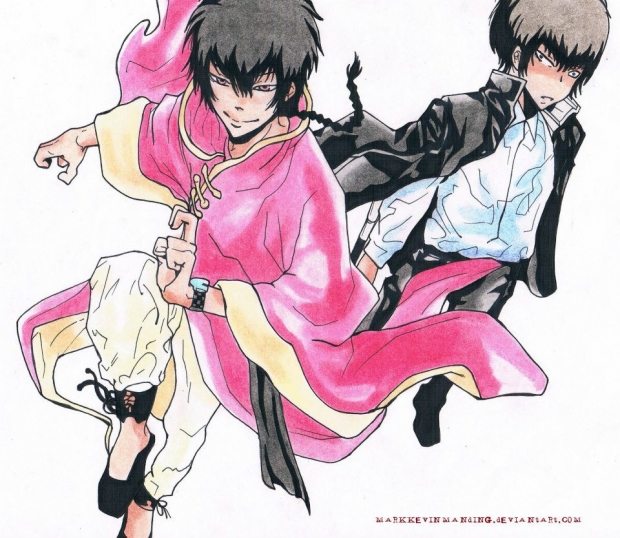 Fon and Hibari