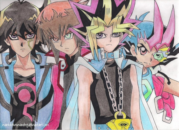 The Heroes of Yu-Gi-Oh!