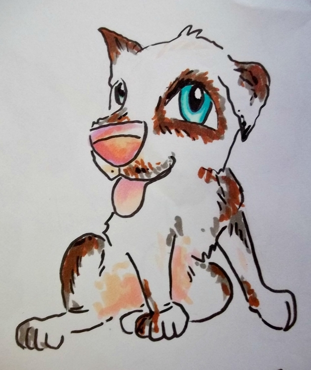 Jack Russel chibi dog