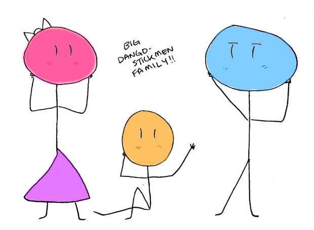 Big Dango Stickmen Family XD