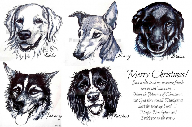 Dog Realism-pen skeches