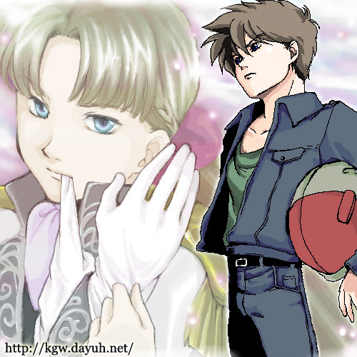 Heero x Relena (Gundam Wing)