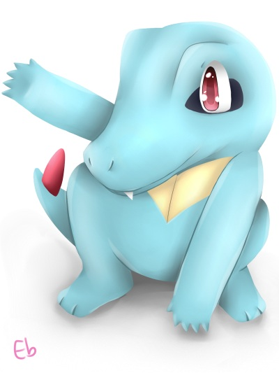 Totodile! Rawwww