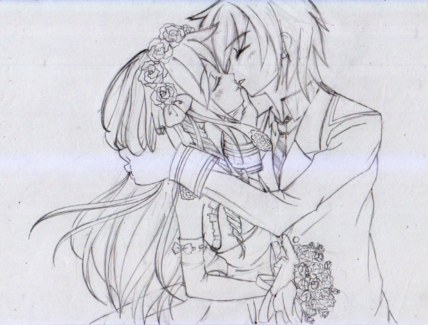 Wedding Kiss (Rouhg Sketch)