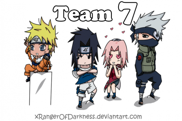 Naruto: Team 7 - The Old Days