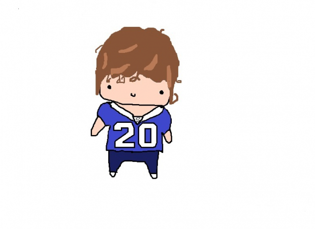 Chibi Football Player!