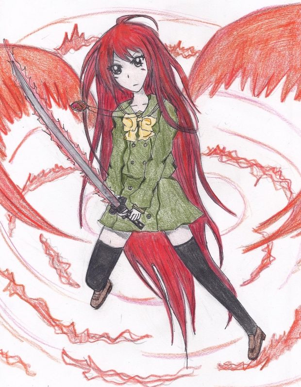 ~Burning-Eyed Shana~