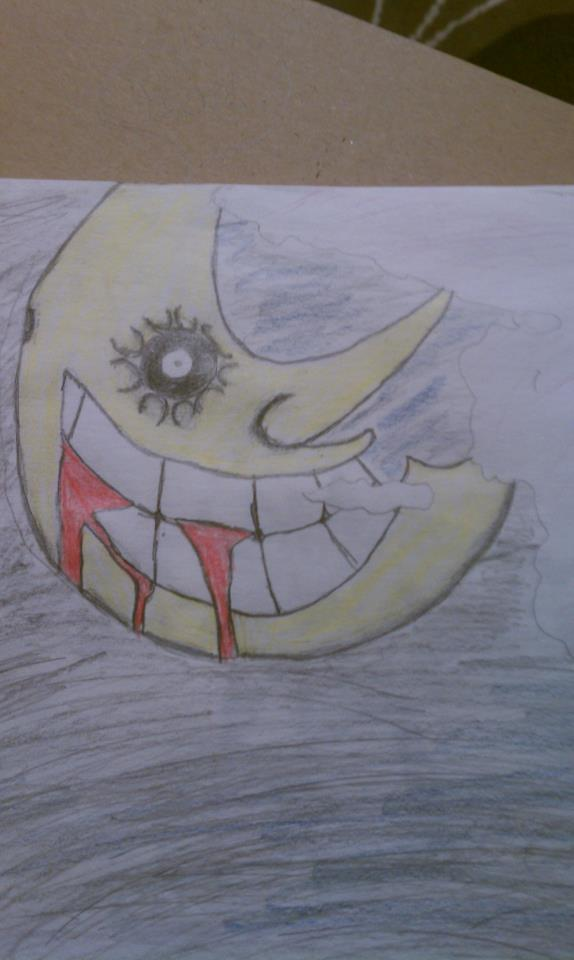 colored soul eater moon