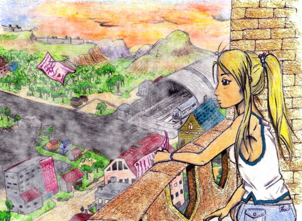 Winry in Dream City