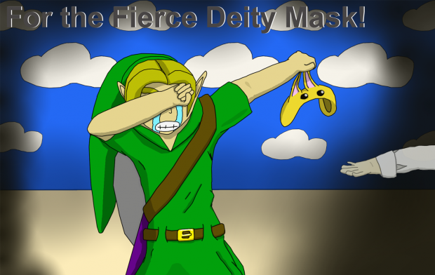 For the Fierce Deity Mask!