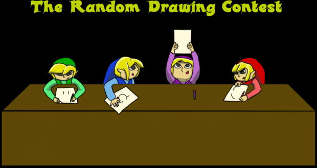 The Random Drawing Contest Pre Pic