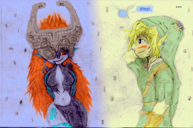 Link Midna
