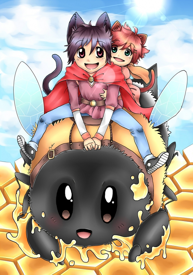 Collab: Laicka - Neko Bee Ride