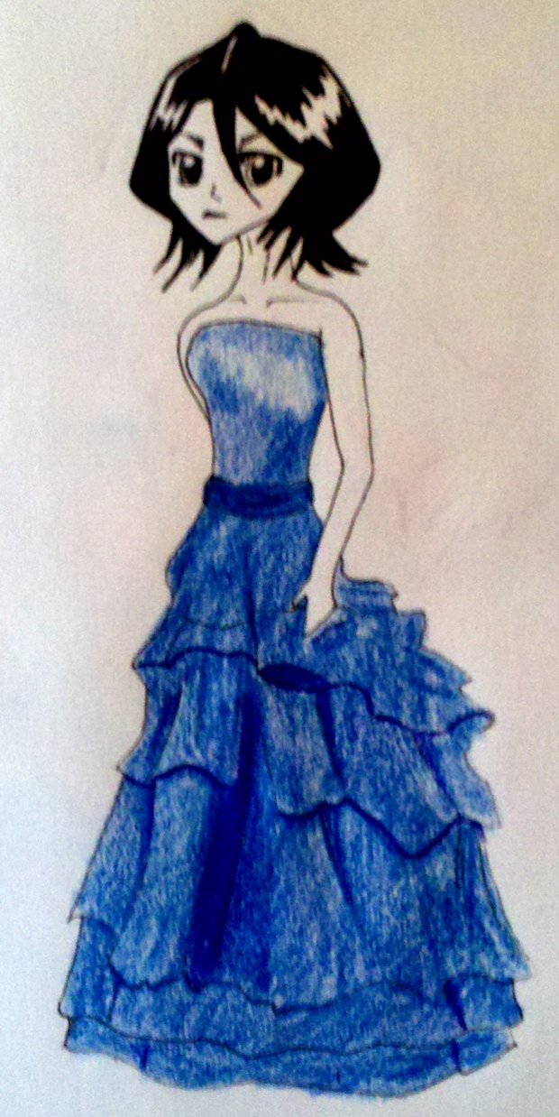Rukia Blue Dress