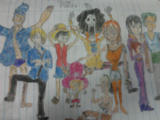My First Straw Hat Crew Pic!!