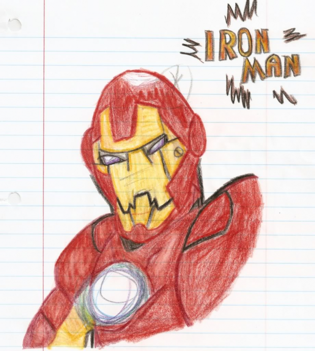 Iron Man EyeCatch Drawing