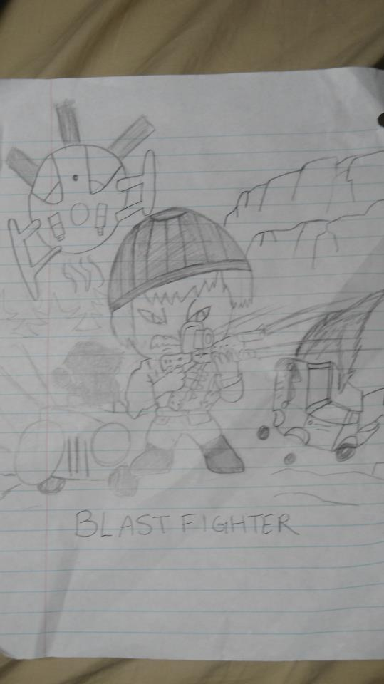 Chibi Blastfighter- Michael Sopkiw
