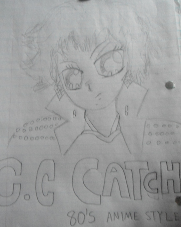 C.C Catch Anime 80's Style