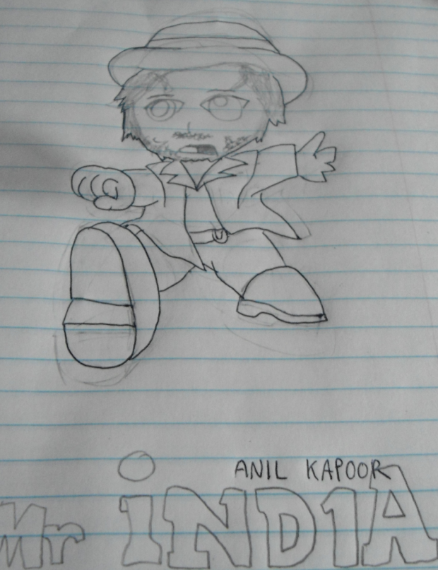 Chibi Anil Kapoor - Mr. India