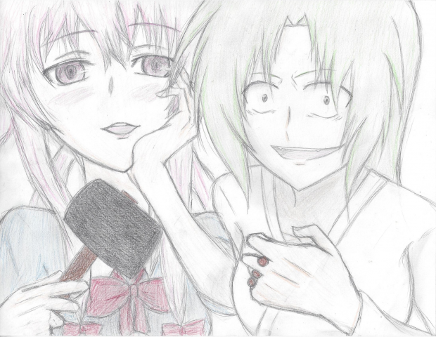 Shion and Yuno