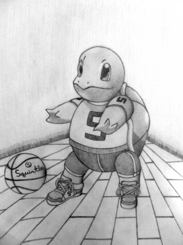 Basketball Squirtle