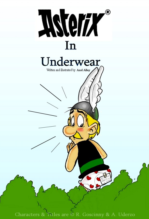 Asterix in Underwear - Cover