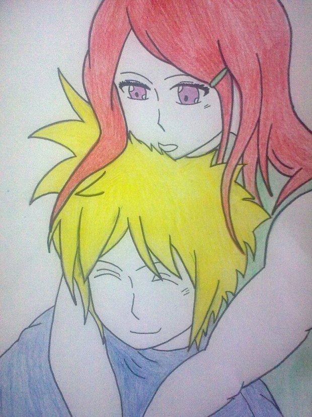 Minato and Kushina