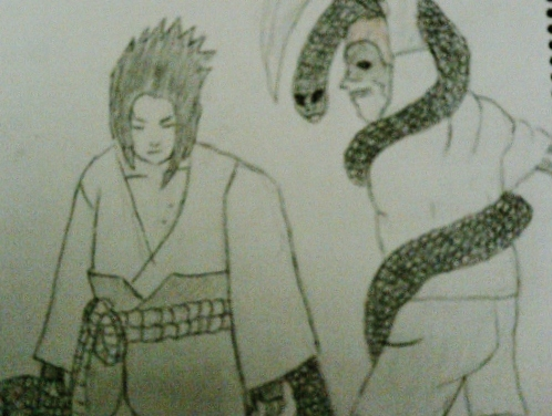 Sasuke and Juugo