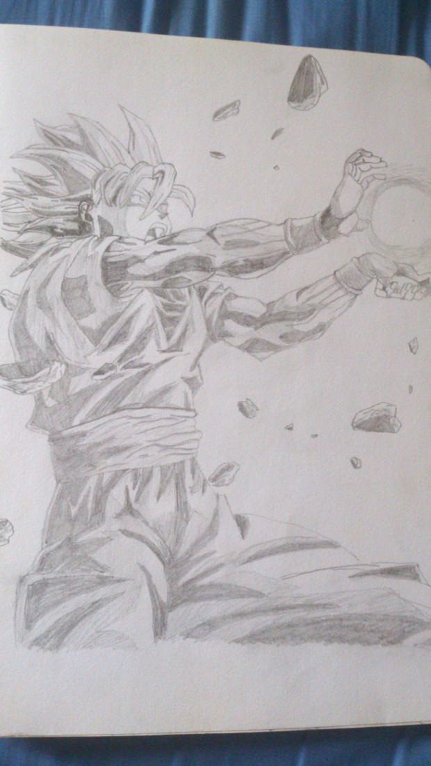 Goku drawing
