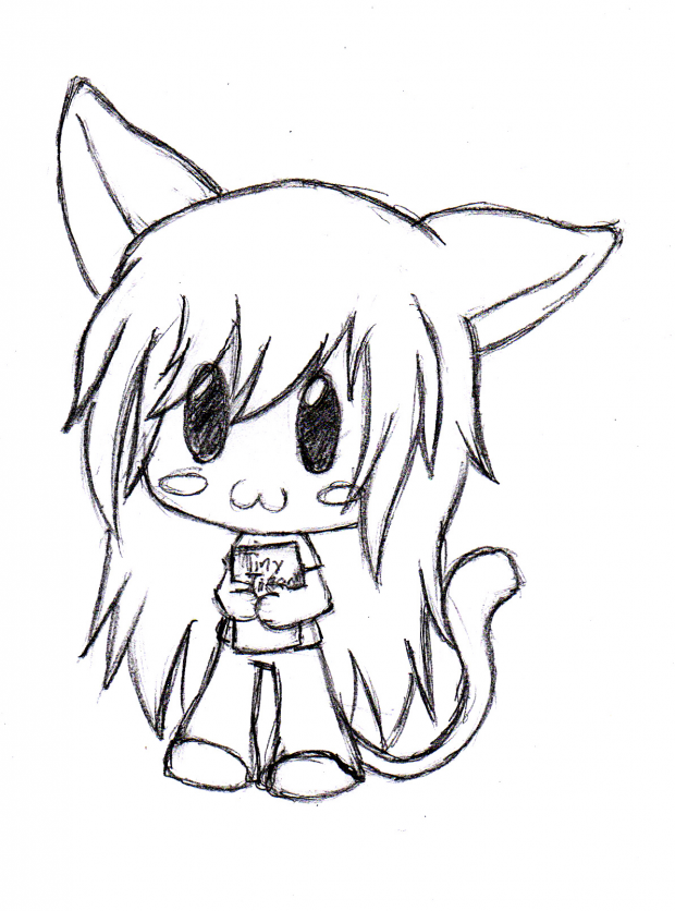 neko chibi girl