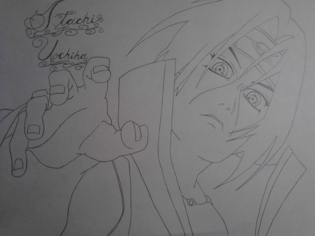 Itachi Uchiha drawing