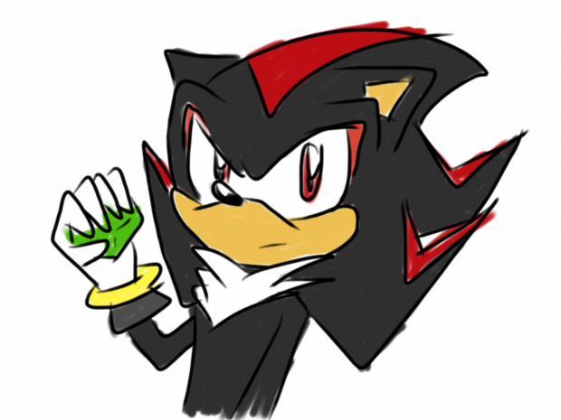 Shadow with his Emerald