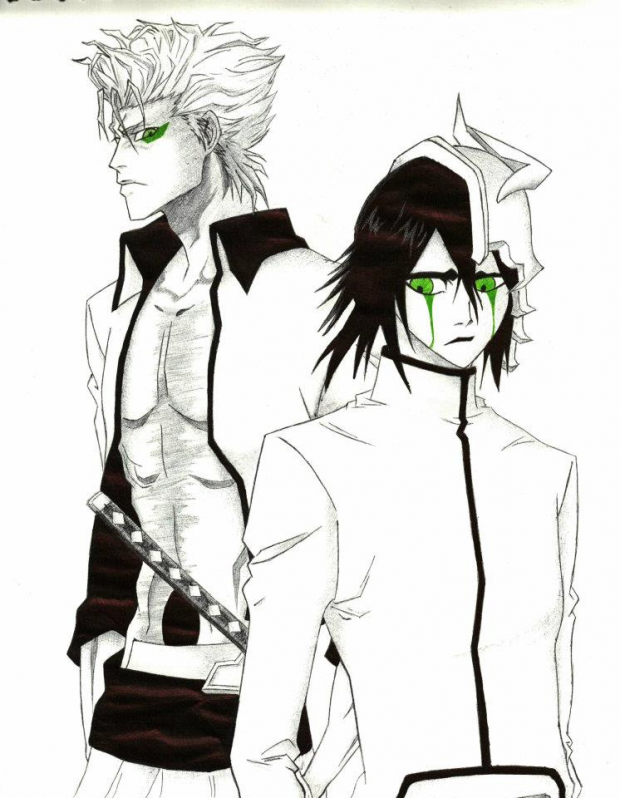 Grimmjow and Ulquiorra
