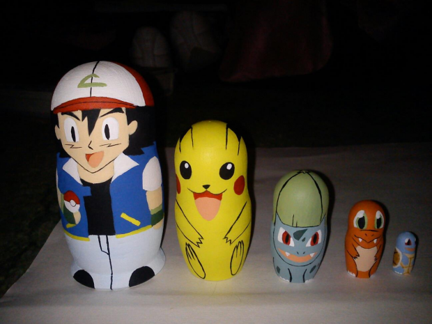 Pokemon nesting dolls