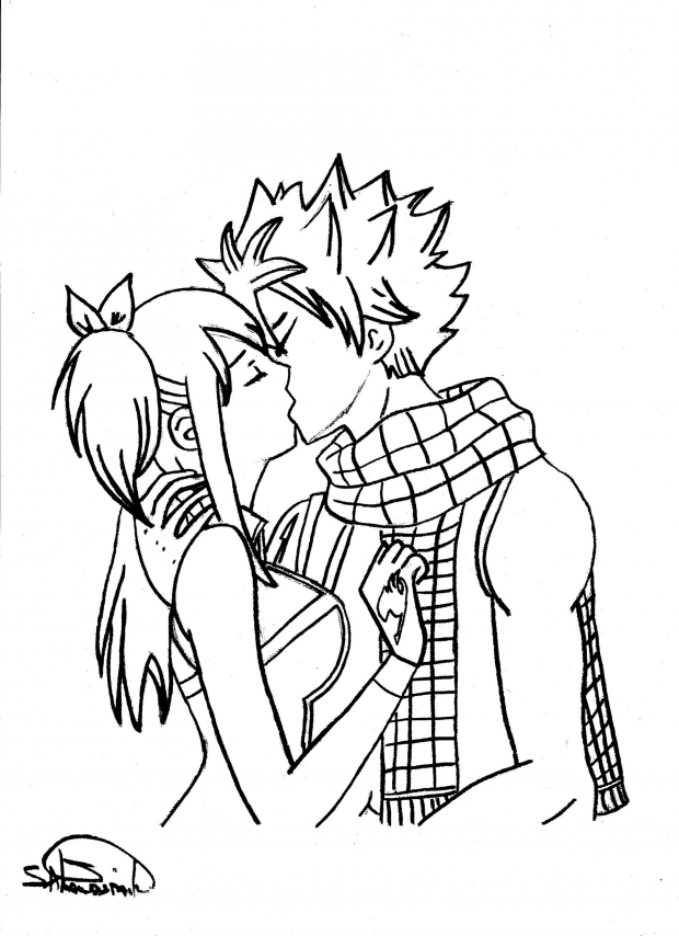 Natsu&amp;Lucy's Kiss