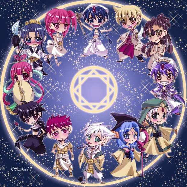 Magi: Clock Face