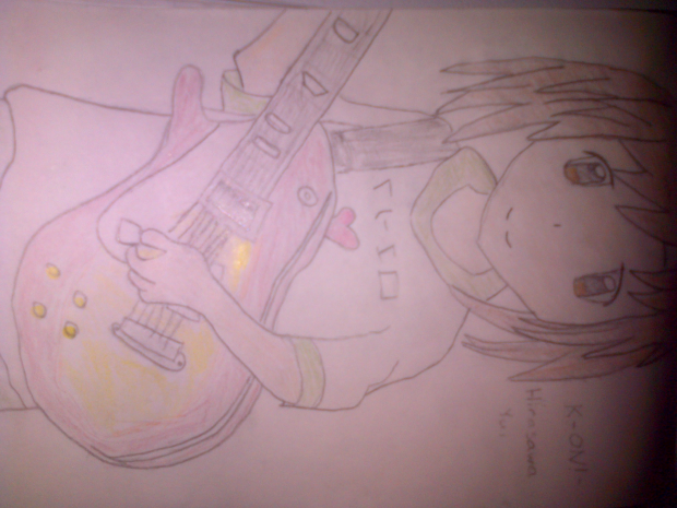 K-On! - Hirasawa Yui. Drawing by ForeverOtaku