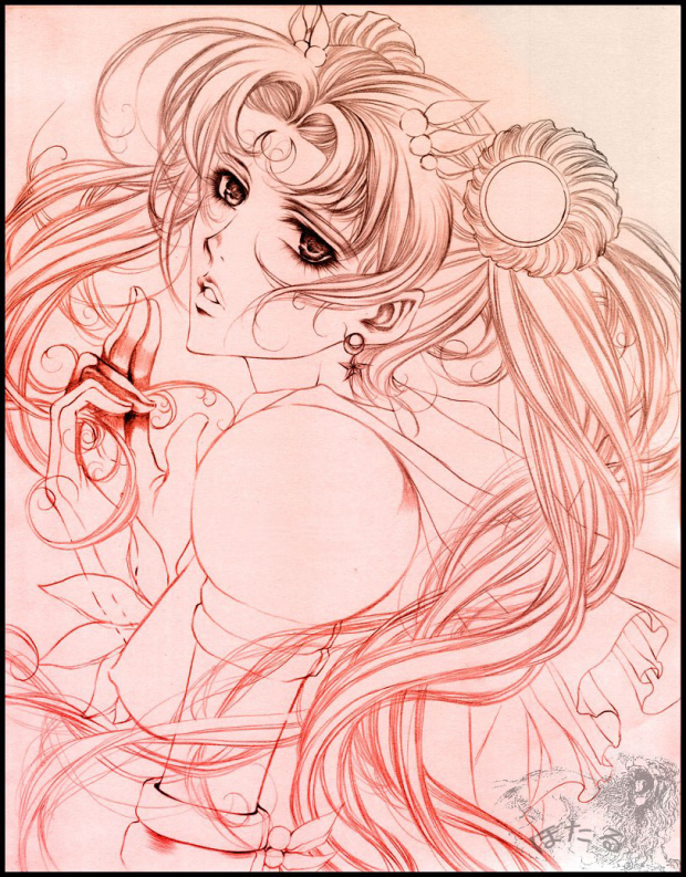 Eternal Sailor Moon II Sketch