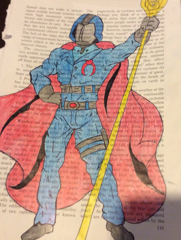 Cobra Commander Gijoe