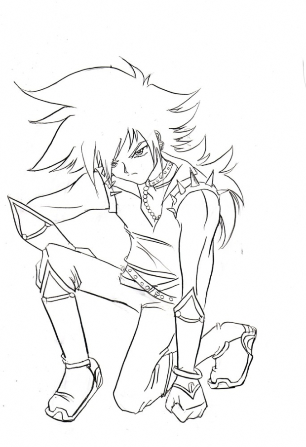 Shadow The Hedgehog *lineart*