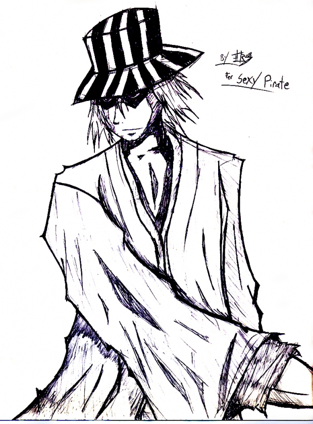 Kisuke Urahara for Sexy Pirate