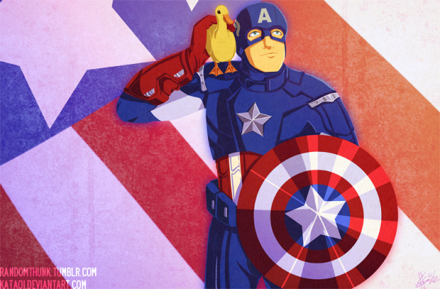 Commission - Captain Duckmerica