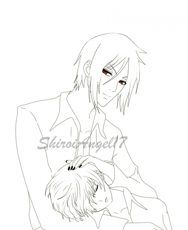 black butler grell coloring pages coloring pages